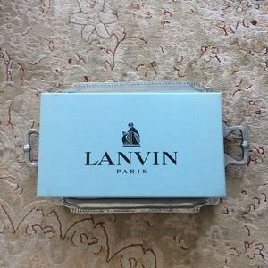 Lanvin Paris Empty Shoe Box